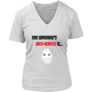 Arch-Nemesis - Egg Version - Women's V-Neck