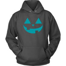 Load image into Gallery viewer, Teal Pumpkin- Unisex Hoodie