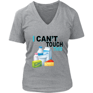 I Can't Touch This - Milk Version - Women's V-Neck