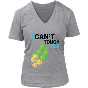 I Can't Touch This - Soy Version - Women's V-Neck