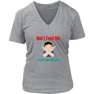 Don't Feed Me! Boy Version - Women's V-Neck