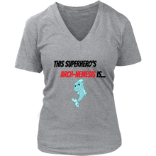 Load image into Gallery viewer, Arch-Nemesis - Fish Version - Women's V-Neck