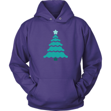 Load image into Gallery viewer, Teal Tree - Unisex Hoodie