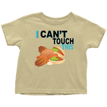 Load image into Gallery viewer, I Can't Touch This - Treenut Version - Toddler T-Shirt