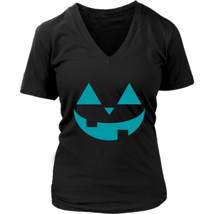 Teal Pumpkin- Women's V-Neck