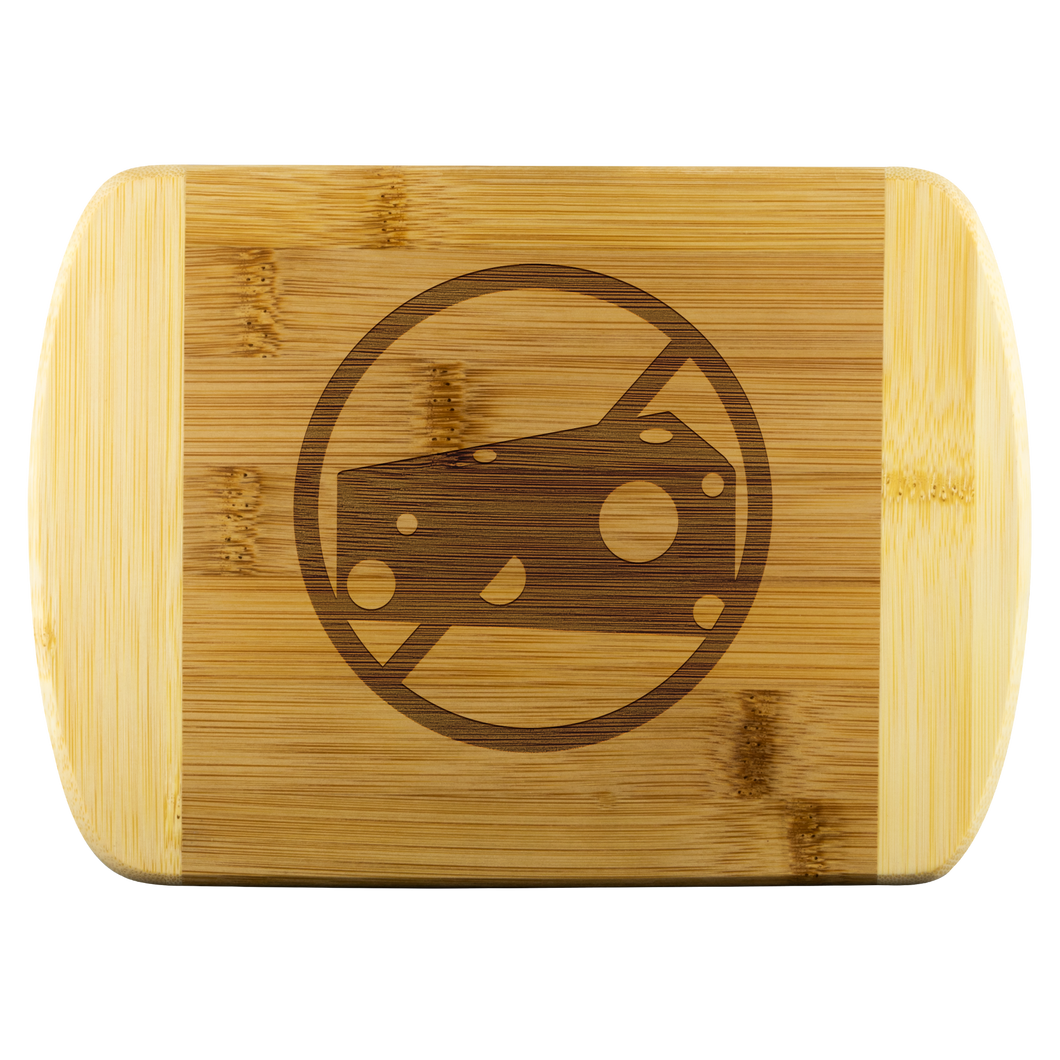 No Milk - Wood Cutting Board