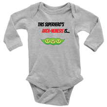 Load image into Gallery viewer, Arch-Nemesis - Soy Version - Long Sleeve Baby Bodysuit