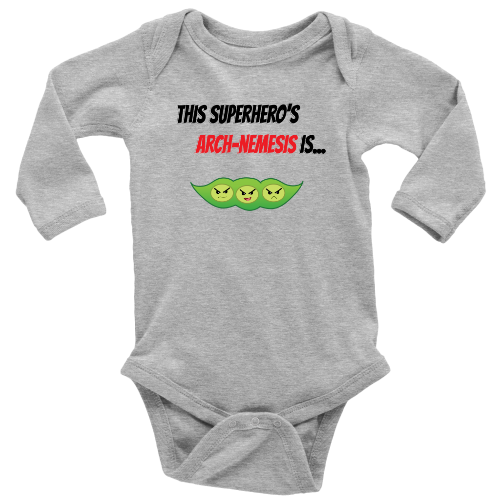 Arch-Nemesis - Soy Version - Long Sleeve Baby Bodysuit
