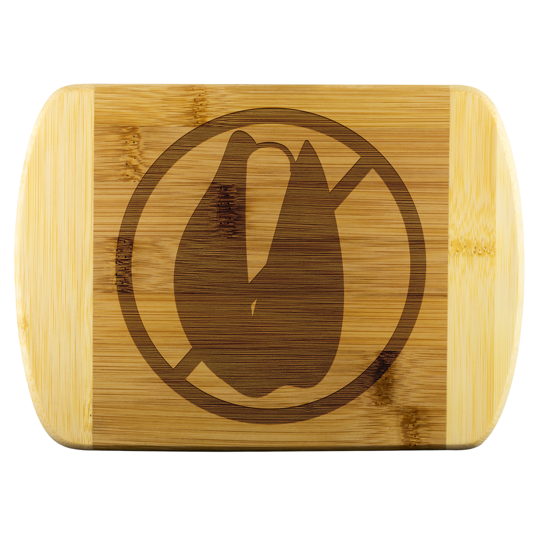No Treenut - Wooden Cutting Board