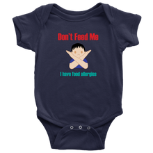 Load image into Gallery viewer, Don't Feed Me! Boy Version - Baby Bodysuit