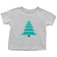 Load image into Gallery viewer, Teal Tree - Toddler T-Shirt
