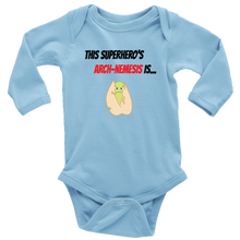 Load image into Gallery viewer, Arch-Nemesis - Treenut Version - Long Sleeve Baby Bodysuit