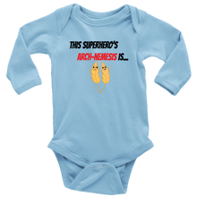Load image into Gallery viewer, Arch-Nemesis - Wheat Version - Long Sleeve Baby Bodysuit