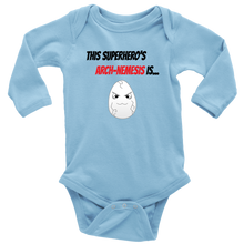 Load image into Gallery viewer, Arch-Nemesis - Egg Version - Long Sleeve Baby Bodysuit