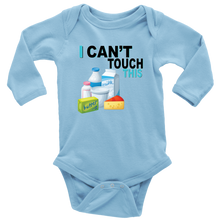 Load image into Gallery viewer, I Can't Touch This - Milk Version - Long Sleeve Baby Bodysuit