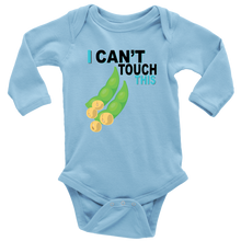 Load image into Gallery viewer, I Can't Touch This - Soy Version - Long Sleeve Baby Bodysuit