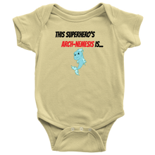 Load image into Gallery viewer, Arch-Nemesis - Fish Version - Baby Bodysuit
