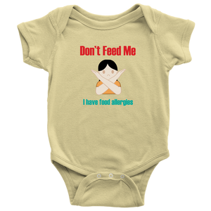 Don't Feed Me! Girl Version - Baby Bodysuit