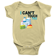 Load image into Gallery viewer, I Can't Touch This - Milk Version - Baby Bodysuit