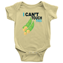 Load image into Gallery viewer, I Can't Touch This - Soy Version - Baby Bodysuit