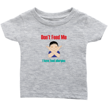 Load image into Gallery viewer, Don't Feed Me! Boy Version - Infant T-shirt