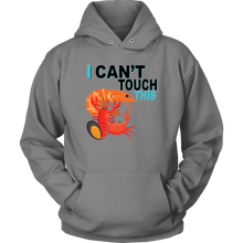 Load image into Gallery viewer, I Can't Touch This - Shellfish Version - Unisex Hoodie