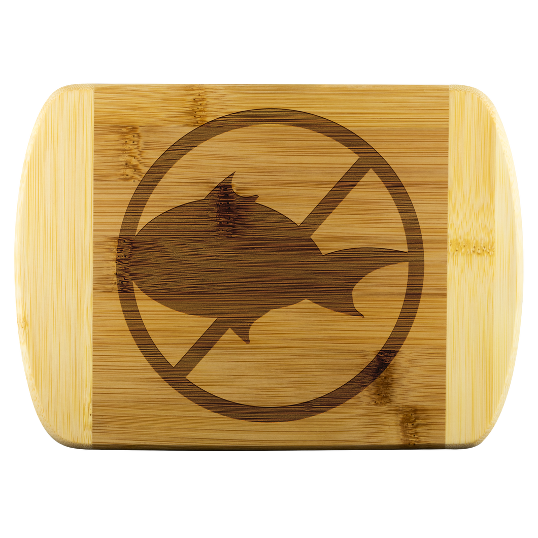 No Fish - Wooden Cutting Board