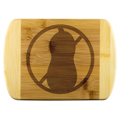No Peanut - Wooden Cutting Board