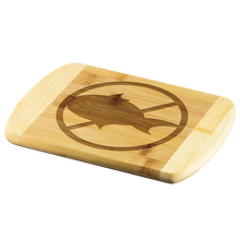 Load image into Gallery viewer, No Fish - Wooden Cutting Board