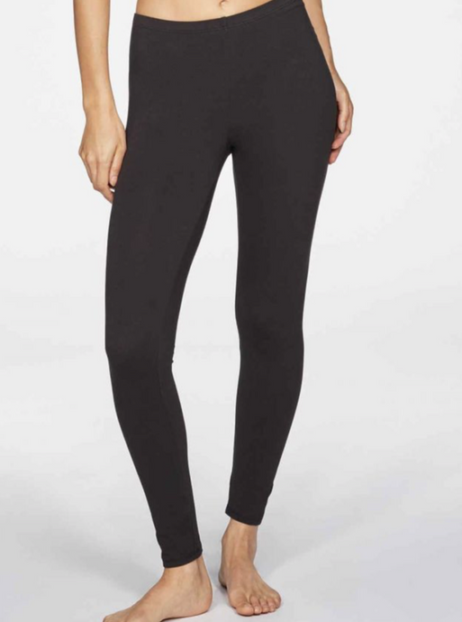 Leggings in bamboo - Black