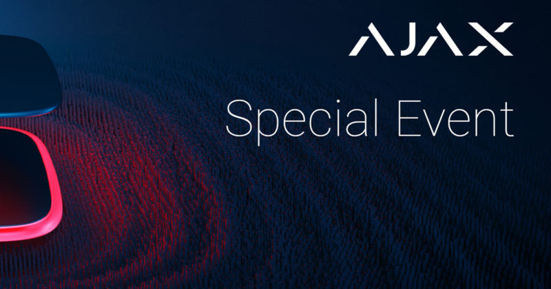 Ajax Special Event: new products in a broadcast to 96 countries