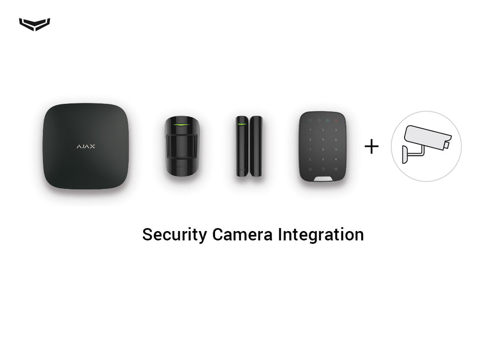 How to connect cameras to the Ajax security system?