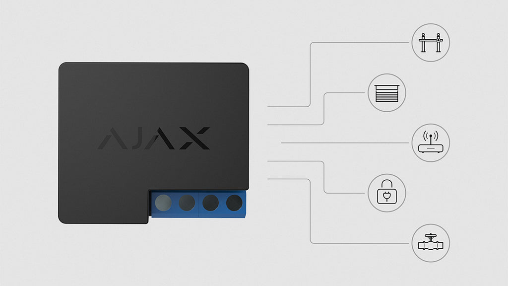 Ajax Relay: the pulse of smart home