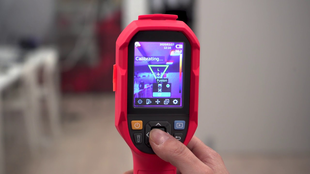 Portable Thermographic Camera