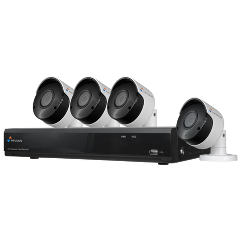 NIVIAN Full HD 5MP Video Surveillance Kit