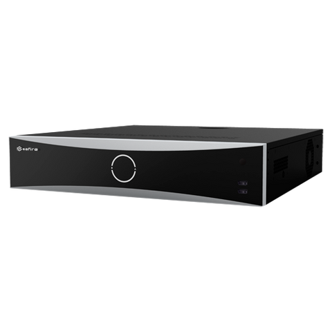 SAFIRE NVR Recorder With Face Recognition (32 Ports)
