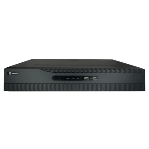 SAFIRE NVR Recorder (32 channels, 24 PoE Ports)