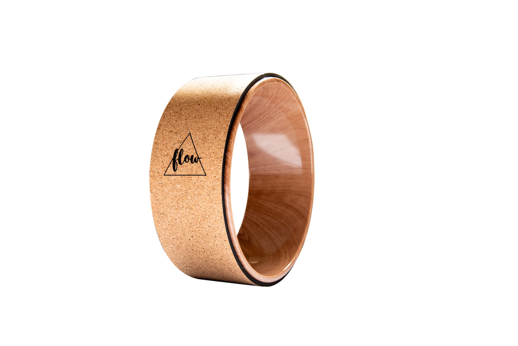 Flow Cork Yoga Wheel