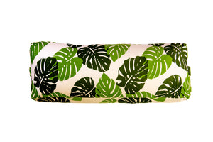 Flow Monstera Yoga Bolster Cover