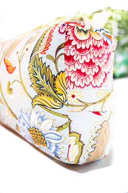 Flow Oriental Paisley Yoga Bolster Cover