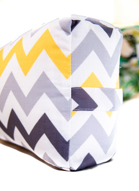 Flow Zigzag Yoga Bolster Cover
