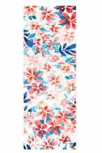 Load image into Gallery viewer, Flow Travel Suede Floral Yoga Mat