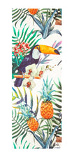 Load image into Gallery viewer, Flow Travel Suede Tropical Yoga Mat