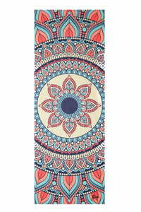 Flow Travel Suede Pink Lotus Yoga Mat