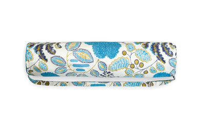 Flow Blue Flowers Canvas Yoga Bag