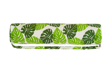 Flow Monstera Canvas Yoga Bag