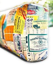 Load image into Gallery viewer, Flow Travel Motif Yoga Bolster Cover