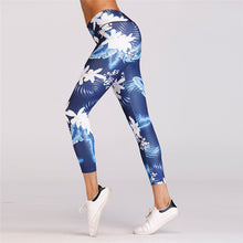 Load image into Gallery viewer, Navy Tropical Pants
