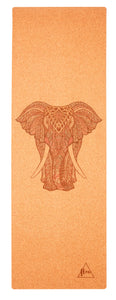 Flow Elephant Cork Mat