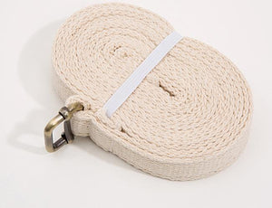 Yoga strap (double-layered) with buckle